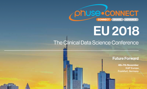 intilaris presents at 2018 PhUSE EU Connect in Frankfurt